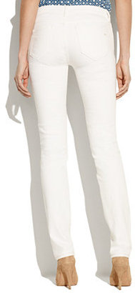 Madewell Rail Straight Jeans in Pure White