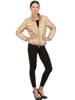 Moncler Lans Lightweight Nylon Down Jacket