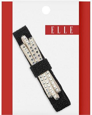 Elle Black Bow Tie Barrette
