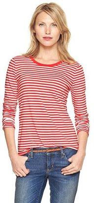 Gap Essential stripe long-sleeve T