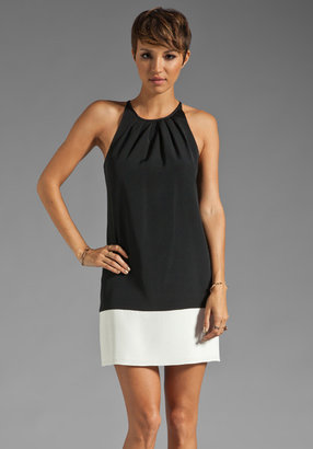 Theory Basque Charlaine C Colorblock Dress