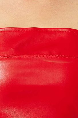 Nasty Gal Spell Cast Crop Tank - Red