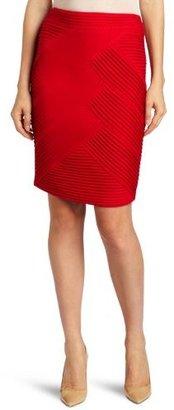 Catherine Malandrino Women's Ruched Pencil Skirt