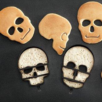 Williams-Sonoma Halloween Skull Pancake Molds, Set of 3