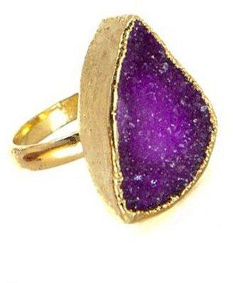 Charlene K Medium Irregular Druzy Ring