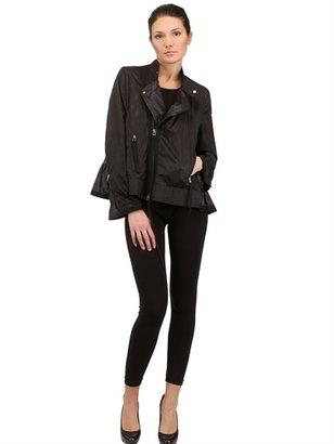 Himeko Ruched Nylon Jacket