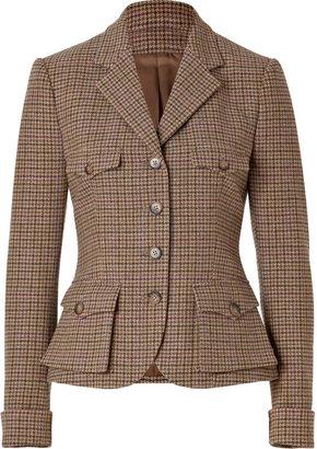 Ralph Lauren Blue Label Wool Tweed Short Jess Jacket