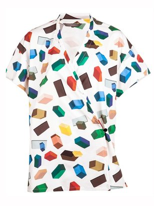 Christophe Lemaire 3D print shirt