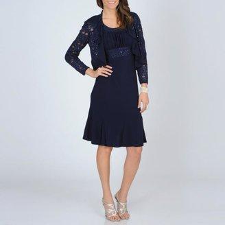 R & M Richards R&M Richards Women's 2-piece Evening Dress $81.99 thestylecure.com