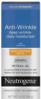 Neutrogena Ageless Intensives Anti-Wrinkle Deep Wrinkle Daily Moisturizer SPF 20