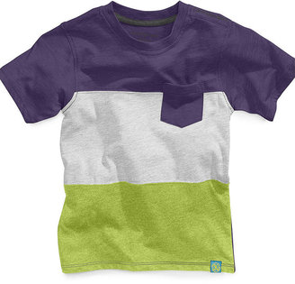 Calvin Klein Jeans Kids T-Shirt, Little Boys Colorblocked Jersey Tee