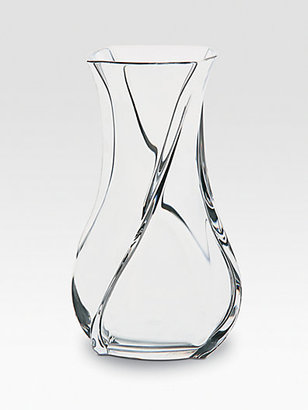 Baccarat Serpentin Crystal Vase/Small