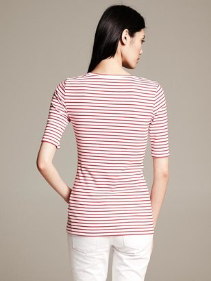 Banana Republic Striped Timeless Tee