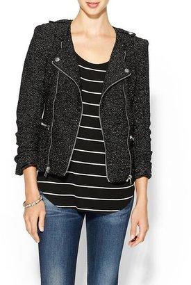 Juicy Couture Ark & Co. Textured Moto Jacket