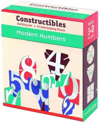 Mudpuppy Modern Numbers Constructibles (25 pc)