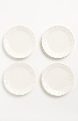 Magenta 'Bohemian Lace' Salad Plates (Set of 4)