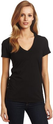 Mod-o-doc Women's Supreme Jersey Short Sleeve V-neck Shirt