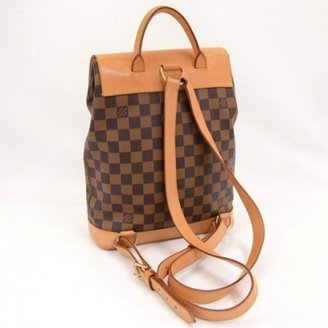 Louis Vuitton very good (VG Damier Canvas Soho Special Edition Limited Backpack