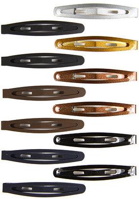 Jane Tran Solid & Metallic Clip Set