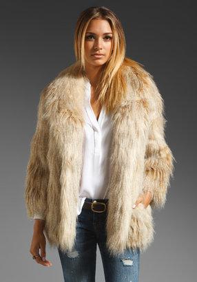 Juicy Couture Faux Fur Jacket