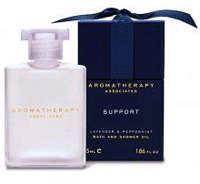 Aromatherapy Associates Support Lavender and Peppermint Bath and Shower Oil 1.85oz