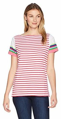 Rafaella Women's Stripe Knit Top