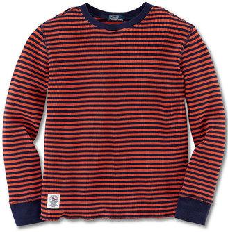 Ralph Lauren Shirt, Little Boys Long-Sleeve Crew Neck