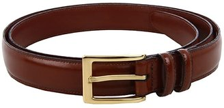 Torino Leather Co. Big and Tall 30MM Antigua Leather (Black) Men's Belts