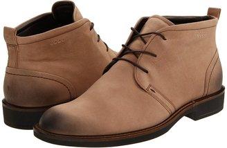 Ecco Biarritz Chukka Boot (Earth Brown Leather) - Footwear