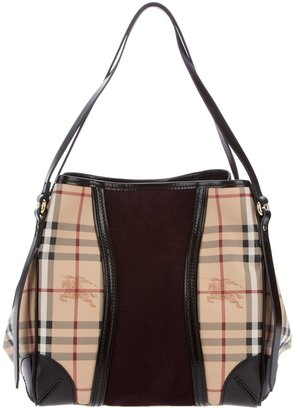 Burberry Checked tote