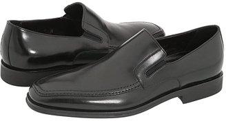 Bruno Magli Raging (Black Nappa Leather) Men's Slip-on Dress Shoes