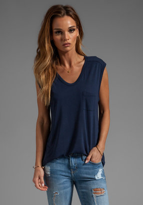 Alexander Wang Classic Muscle Tee With Pocket