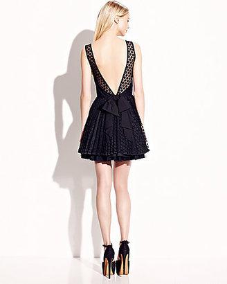 Betsey Johnson Low Cut Back Party Dress