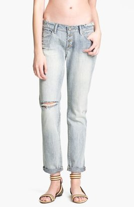 Paige 'Jimmy Jimmy' Destroyed Relaxed Fit Jeans (Pilot) Womens Pilot Size 24 24