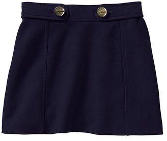 Gap Seamed mini skirt