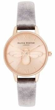 Olivia Burton 3D Bee Stainless Steel Analog Watch