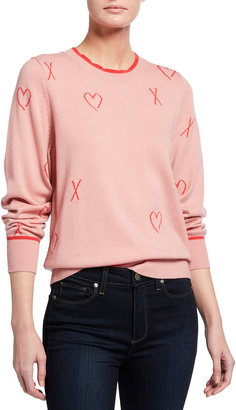 Splendid With Love Wool-Blend Crewneck Sweater