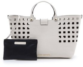 Juicy Couture Emblazon Leather Shopper Tote