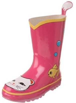 Kidorable Lucky Cat Rain Boot (Toddler/Little Kid)