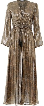Paolita Cassiopeia Silk Long Sleeve Kimono