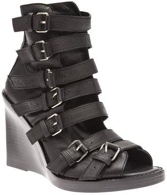 Ann Demeulemeester strappy wedge sandal