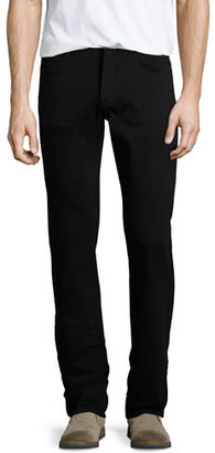 Citizens of Humanity Sid Midnight Straight-Leg Jeans, Black