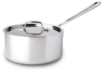 All-Clad 3-qt. Stainless Steel Stainless Sauce Pan