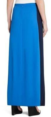BCBGMAXAZRIA Jane Contrast Hem Long Skirt
