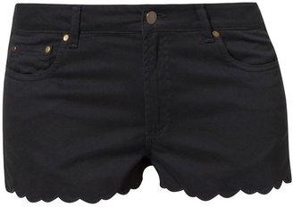 Ganni Jeans Shorts moonless night