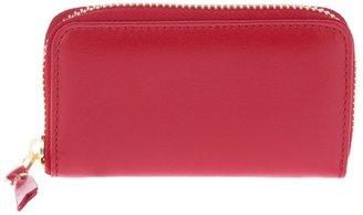 Comme des Garcons 'Colour Plain' zip fastening wallet