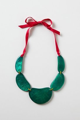 Anthropologie Cactus Paddle Necklace