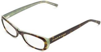 Kate Spade Berit Berit Rectangle Reading Glasses,Tortoise Mint 2.5,48 mm