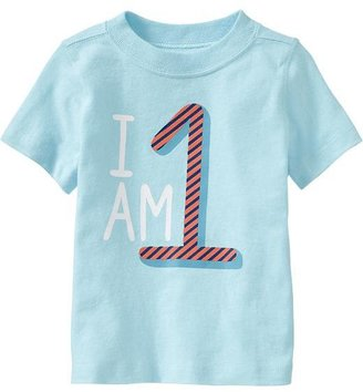"Old Navy ""I Am 1"" Tees for Baby"