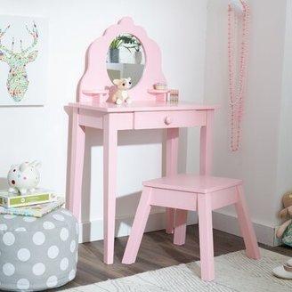 Kid Kraft Diva 2 Piece Vanity Set with Mirror Color: Pink